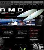 サーフボード「RMD SURFBOARD」のオフィシャルウェブサイトです